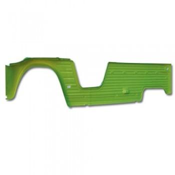 PANNEAU LATERAL D VERT TIBESTY 3.5mm anti uv mehari