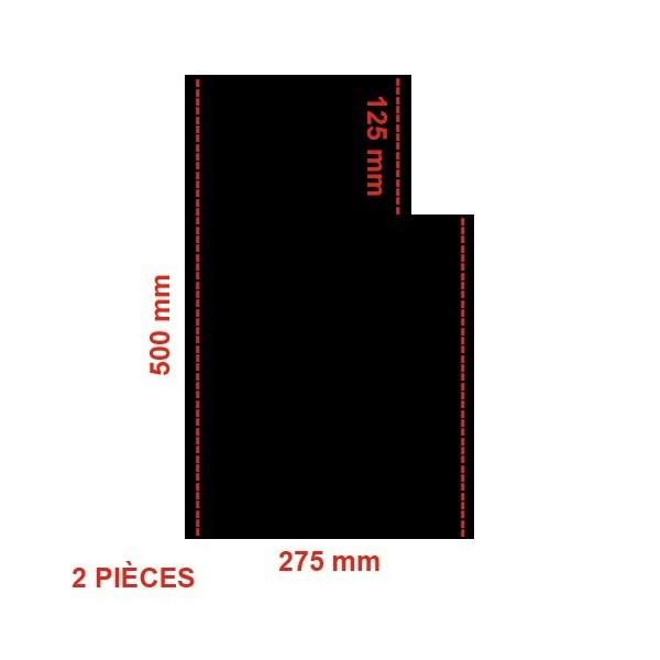 Fond de siège toile PVC Assise x 2 Pour Banquette AV Nouveau Modele 2cv 2cv 6
