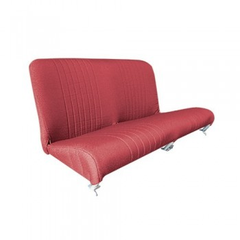 GARNITURE BANQUETTE ARRIERE 2CV EXPORT ROUGE DIAMANTE