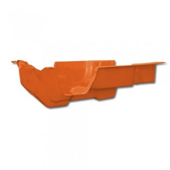 COQUE 4 PLACE ORANGE KIRCHIZ ABS ANTI UV mehari mehari 4x4