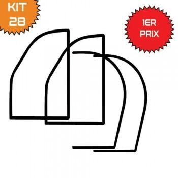 Kit 4 joints de Portes 2cv 70 ET APRES