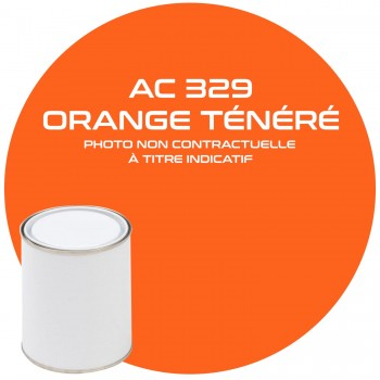 PEINTURE ACV 329 ORANGE TENERE ANNEE 74.75.76  1 KG