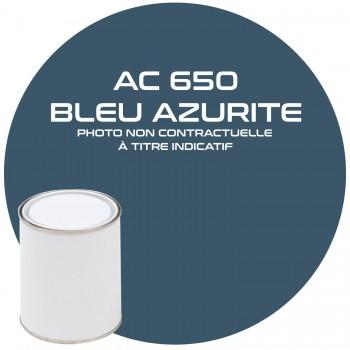 PEINTURE AC 650 BLEU AZURITE ANNEE 80.81  1KG