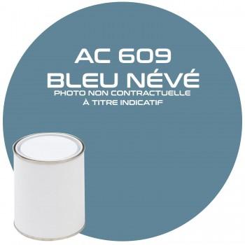 PEINTURE AC 609 BLEU NEVE ANNEE 69  1KG