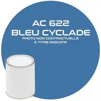 PEINTURE AC 622 BLEU CYCLADE ANNEE 67.68  1KG