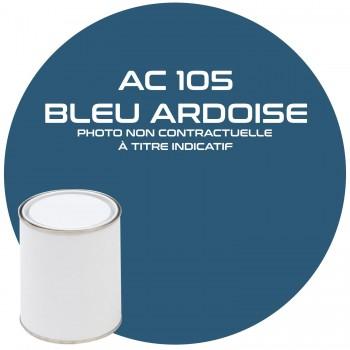 PEINTURE AC 105 BLEU ARDOISE ANNEE 65  1KG