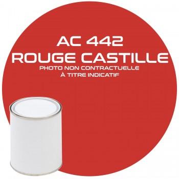 PEINTURE AC 442 ROUGE CASTILLE ANNEE 81.82  1KG