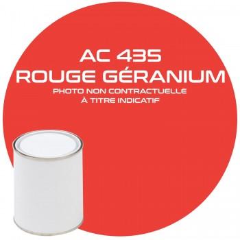 PEINTURE AC 435 ROUGE GERANIUM ANNEE 78  1KG