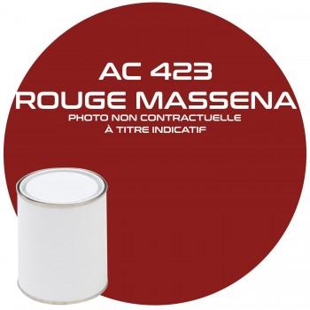 PEINTURE AC 423 ROUGE MASSENA ANNEE 71  1KG