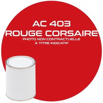 PEINTURE AC 403 ROUGE CORSIARE ANNEE 68.69.70   1KG