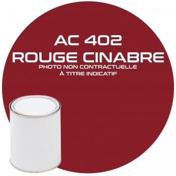 PEINTURE AC 402 ROUGE CINABRE ANNEE 67  1KG