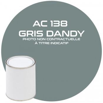 PEINTURE AC 138 GRIS DANDY ANNEE 67.68  1KG