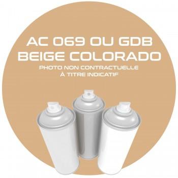 AEROSOL BEIGE COLORADO AC 069 OU GDB ANNEE 82.83.84 400 ML