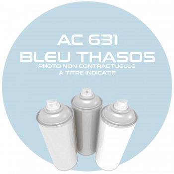AEROSOL BLEU THASOS AC 631 ANNEE 70.71..400 ML