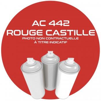 AEROSOL ROUGE CASTILLE 18329 AC 442 ANNEE 81.82..400 ML