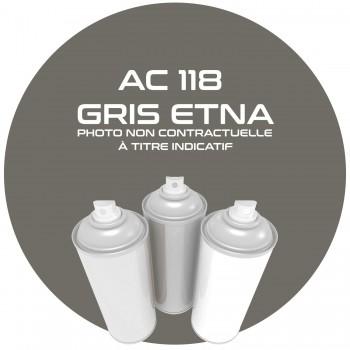 AEROSOL GRIS ETNA AC 118 ANNEE 6.67.AEROSOL 400 ML