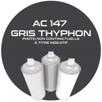 AEROSOL GRIS THYPHON AC 147.ANNEE.64.65.AEROSOL 400ML