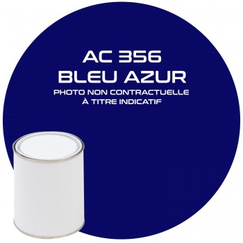 PEINTURE BLEU AZUR AC 356  1KG