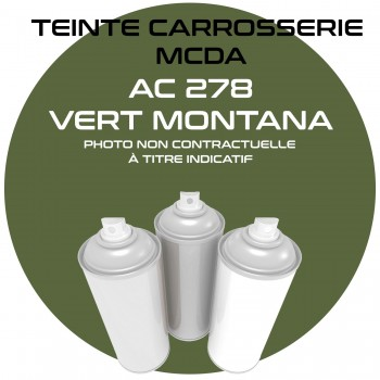 AEROSOL AC 278 VERT MONTANA CARROSSERIE MCDA  400ML