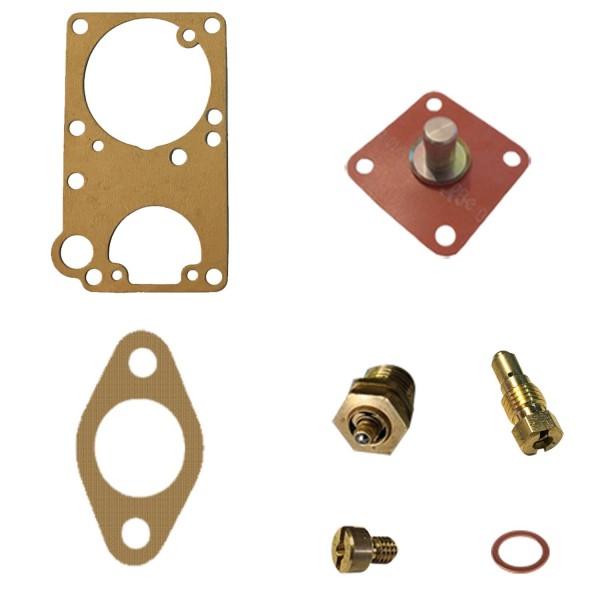 Pochette réparation carburateur simple corps mehari 2cv 2cv 6 2cv fourgonnette dyane dyane 6