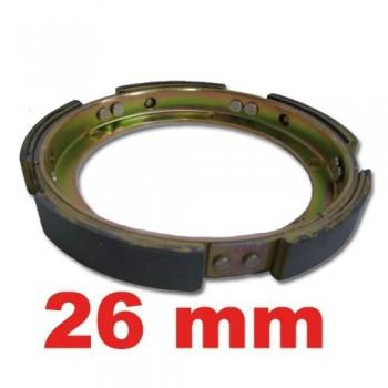 Couronne d'embrayage centrifuge 26 mm , échange standard mehari 2cv 2cv 6 2cv fourgonnette dyane dyane 6 acadiane ami 6 ami 8